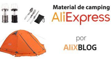 Comprar material de camping barato en AliExpress – Guía completa