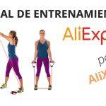 Material de entrenamiento barato en AliExpress