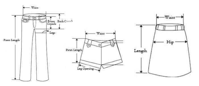 medidas-para-parte-de-abajo-pantalones-faltdas-en-aliexpress