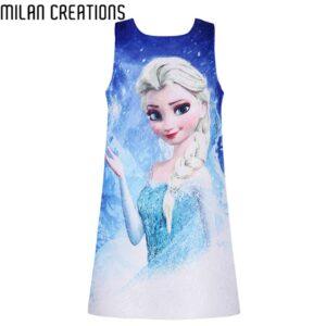 milan-creations-vestido-frozen-ropa-ninos-y-bebes-aliexpress