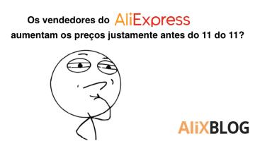 Os vendedores do AliExpress aumentam os preços justamente antes do 11 do 11? Analisamos 9000 produtos para comprovar