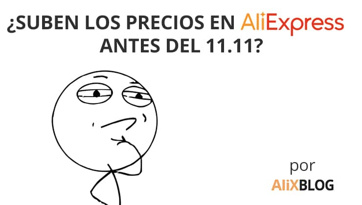 Precios en AliExpress el 11 del 11