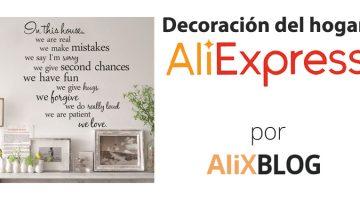 Decora tu hogar por muy poco dinero, en AliExpress