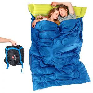 saco-dormir-doble-camping-aliexpress