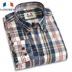 camisa-de-cuadros-algodon-langmeng-aliexpress