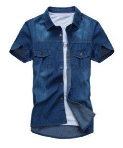 camisas-tejanas-manga-corta-aliexpress