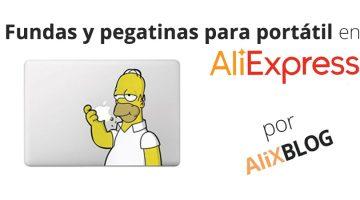 Fundas y pegatinas para portátil: personaliza tu ordenador con AliExpress