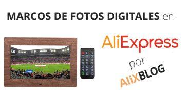 Marcos de fotos digitales: cómo comprarlos muy baratos en AliExpress