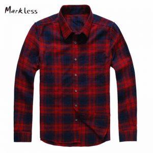 markless-camisas-a-cuadros-aliexpress