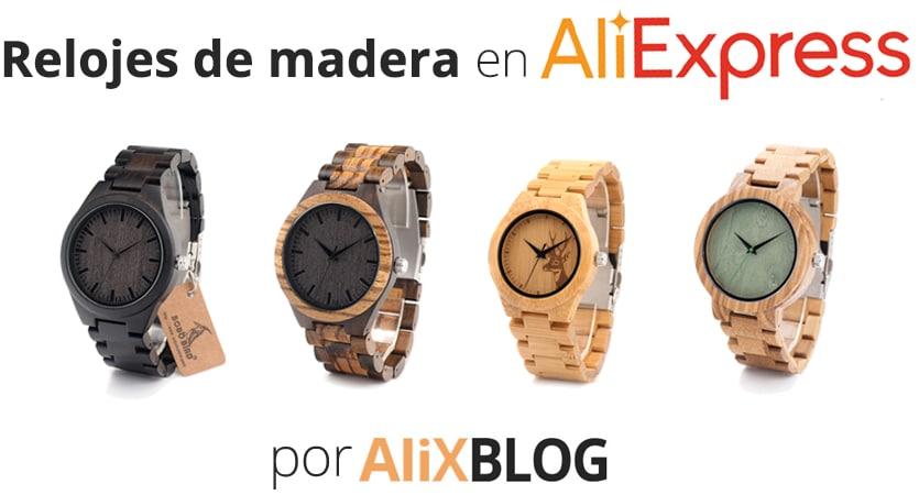 Relojes Baratos Comprarlos En MaderaComo De Aliexpress QWBoCxdreE