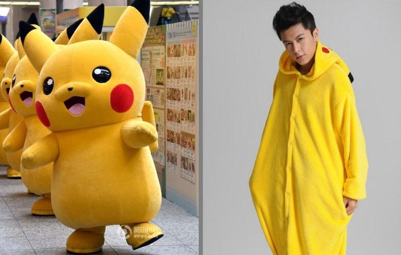 Disfraz Pikachu barato