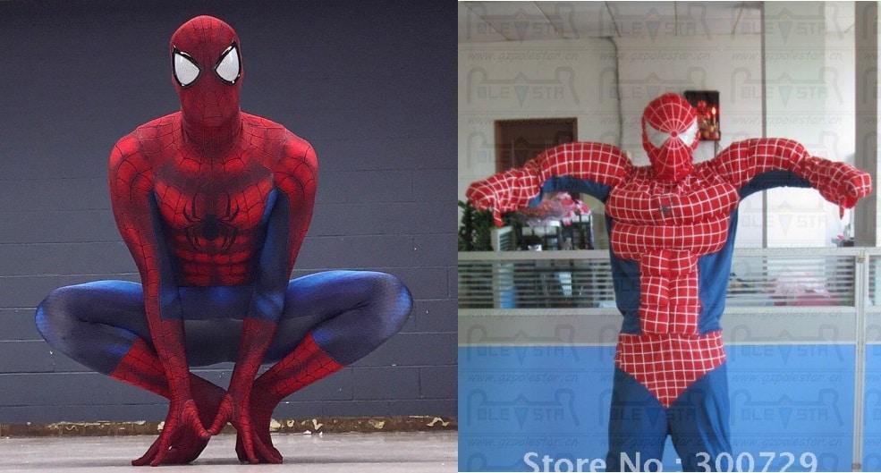 Disfraz Spiderman online