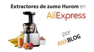 Extractores de zumo Hurom: Guía para comprarlos muy baratos en AliExpress