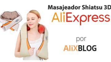 Masajeador cervical Shiatsu 3d: análisis y cómo comprarlo muy barato en AliExpress