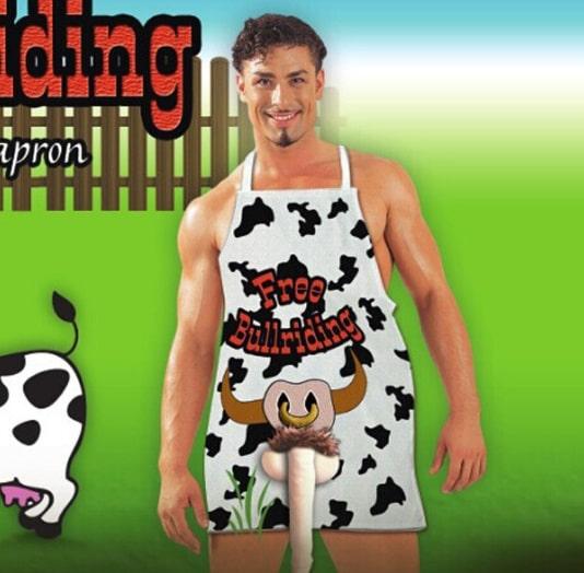Delantal vaca lechera