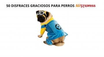 50 disfraces baratos para perros que puedes encontrar en AliExpress