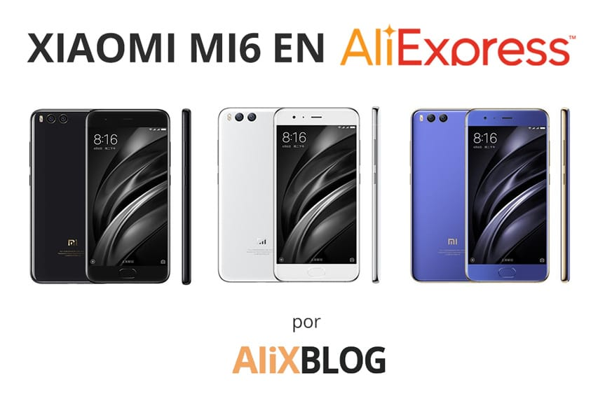 El xiaomi mi6 disponible en aliexpress
