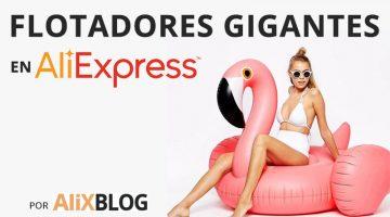 Flotadores gigantes para triunfar en Instagram (sí, está el del flamenco rosa)