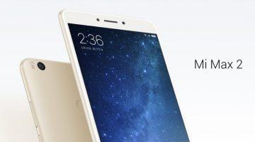 Ya conocemos el Xiaomi Mi Max 2: un smartphone con batería y pantalla gigantes