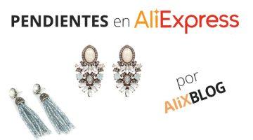 Pendientes: los más baratos y bonitos, están en AliExpress