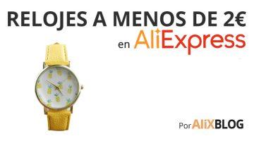 Los 20 mejores relojes por menos de 2 euros que encontrarás en AliExpress