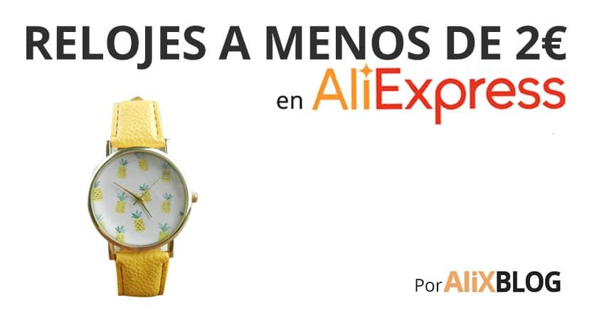 Relojes más baratos de AliExpress