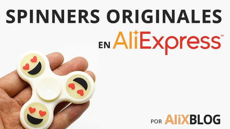 Spinners originales de AliExpress