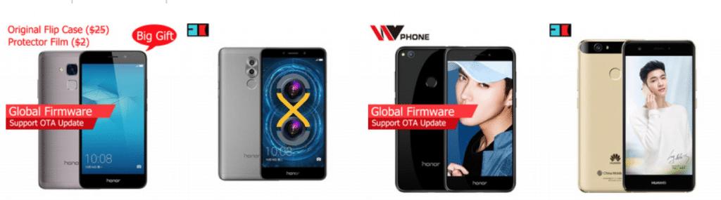 Huawei на AliExpress