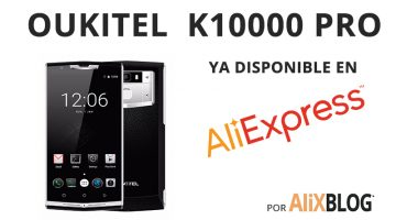 Llega a AliExpress el Oukitel K10000 Pro, el móvil de la batería BRUTAL (y es más barato que su antecesor)