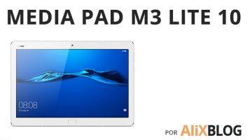 MediaPad M3 Lite 10: así es la nueva tablet estrella de Huawei