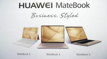 Así son los portátiles MateBook de Huawei: diseño y pura potencia