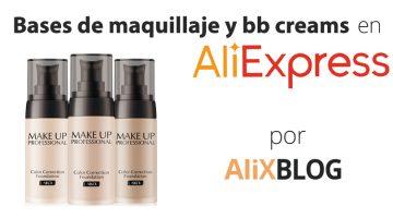 Bases de maquillaje y bb creams por menos de 10 euros en AliExpress