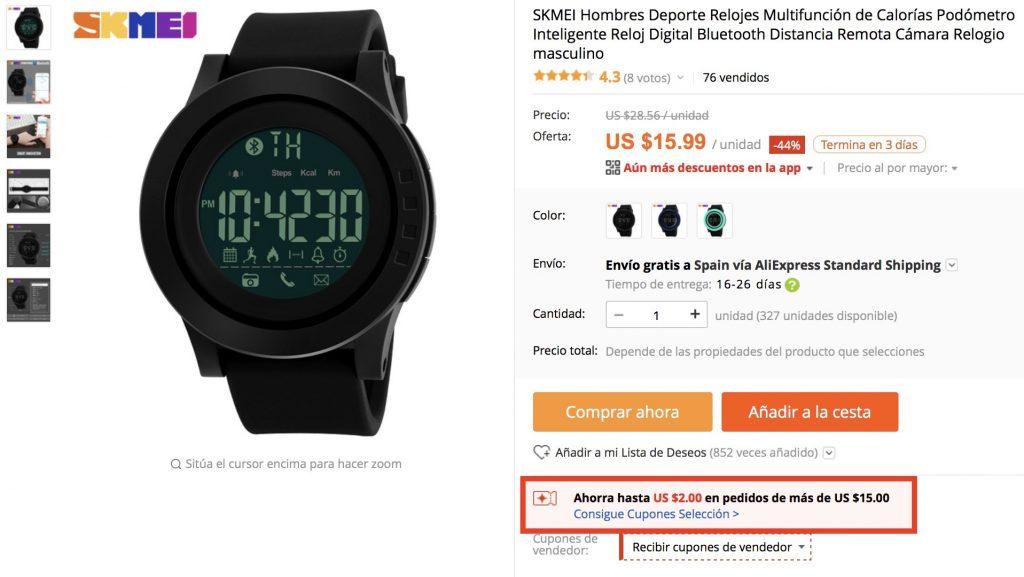 promocja zegarek armani aliexpress