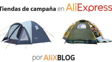 Top 10 tiendas de campaña de AliExpress