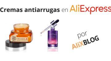 Cremas antiarrugas en AliExpress: baratas y eficaces