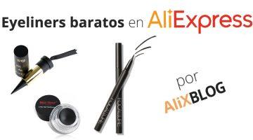 Los mejores eyeliners o delineadores de ojos baratos en AliExpress