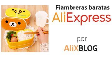Fiambreras y bentos en AliExpress: come fuera de casa con estilo