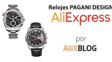 Relojes Pagani Design: cómo comprarlos muy baratos en AliExpress