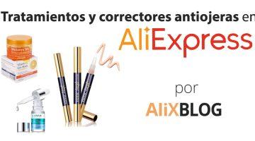 Correctores y tratamientos antiojeras en AliExpress: borra tus ojeras por muy poco dinero