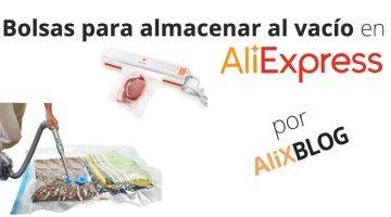 Bolsas para envasar al vacío ropa y alimentos en AliExpress