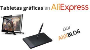 Tabletas gráficas en AliExpress: las mejores alternativas a las Wacom