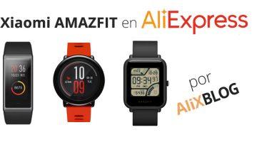 Xiaomi Amazfit: review de los relojes GPS deportivos de Xiaomi