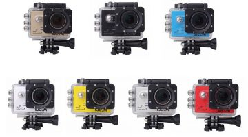 SJ5000, la cámara deportiva con live view que puedes usar en tu dron