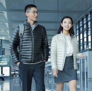 jaqueta de pluma xiaomi