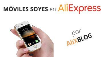 Analizamos los mini smartphones Soyes y cómo comprarlos en AliExpress