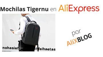 Mochilas Tigernu en AliExpress: transporta tu tecnología con total comodidad por poco dinero