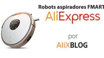 Analizamos la marca Fmart y sus robots aspiradores baratos de AliExpress