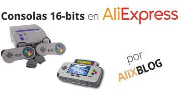 Analizamos las consolas de 16-bit baratas de AliExpress