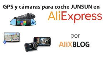 GPS y cámaras Junsun para coche en AliExpress