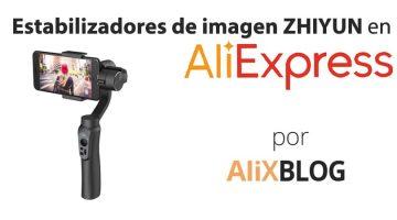 Estabilizadores de imagen baratos de la marca Zhiyun en AliExpress